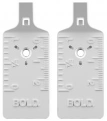Bildekrok til alle vegger - Bold bildekrok 2-pk