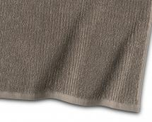 Gjestehåndkle Stripe Frotté - Brun 30x50 cm