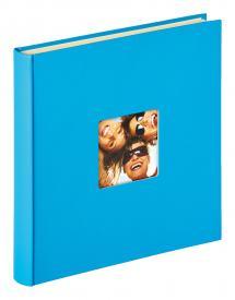 Fun Selvklebende Havblå - 33x34 cm (50 Hvite sider / 25 ark)