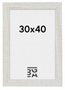 Home Hvit 30x40 cm