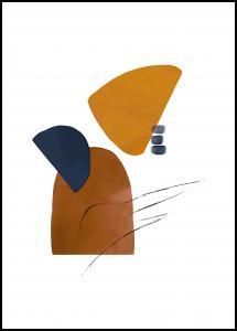 Abstract Shapes I Plakat