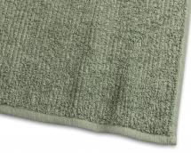 Gjestehåndkle Stripe Frotté - Grønn 30x50 cm