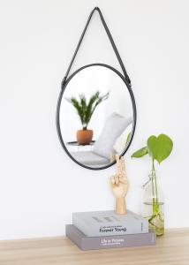 Speil Lea Svart 35x45 cm