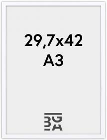 Edsbyn Hvit 2D 29,7x42 cm (A3)