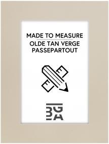 Passepartout Olde Tan Verge - Målbestilt