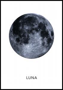 Luna Poster Plakat
