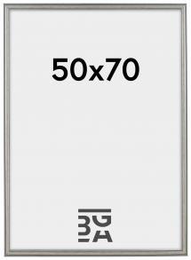 Frigg Sølv 50x70 cm