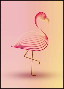 flamingo Plakat