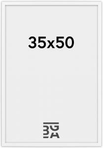 Edsbyn Hvit 2D 35x50 cm