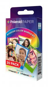 Polaroid Instant Zink Media 5,1x7,6 cm Rainbow - 20 Ark