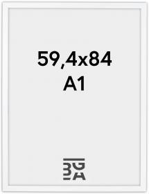 Ramme White Wood 59,4x84 cm (A1)
