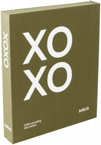 KAILA XOXO Olive - Coffee Table Photo Album (60 Svarte Sider / 30 Ark)