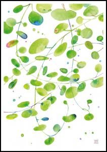 Green Leaves - Green isle studio Plakat