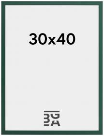 Ramme E-Line Akrylglass Grønn 30x40 cm