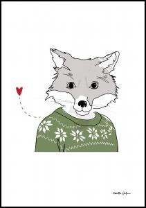 Furry-Fox Plakat