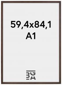 Ramme Stilren Valnøtt 59,4x84,1 cm (A1)