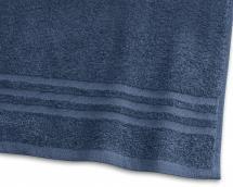 Gjestehåndkle Basic Frotté - Marineblå 30x50 cm