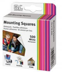 3L Mounting Squares 500 stk.