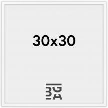 Edsbyn Hvit 2D 30x30 cm