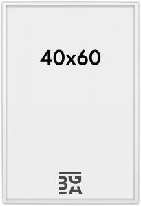 Edsbyn Hvit 2D 40x60 cm