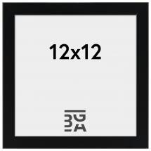 Edsbyn Svart 2E 12x12 cm