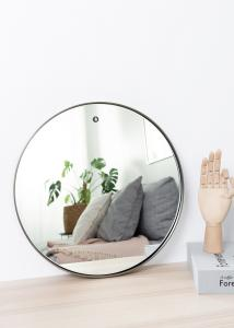 Speil House Doctor Reflektion Svart 40 cm Ø