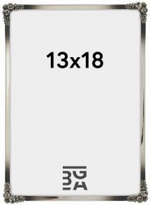 Ramme Rosen Metall Sølv 13x18 cm
