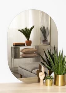 KAILA Speil Oval Dark Bronze 70x100 cm