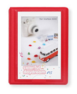 Polaroid Minialbum Rød - 28 Bilder i 5x7,6 cm