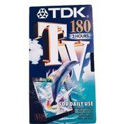 TDK VHS-Bånd 180 minutter
