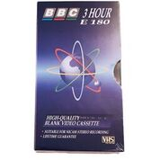 BBC VHS-Bånd 180 minutter